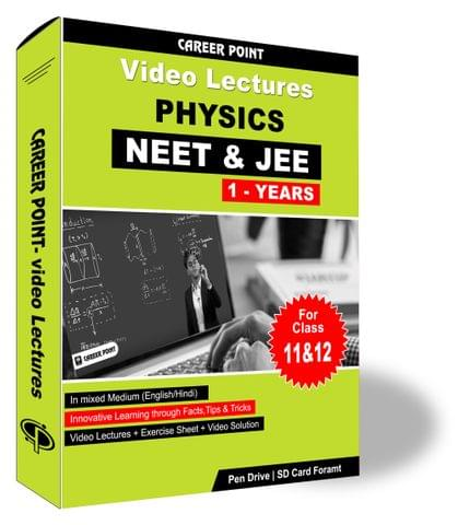 Physics Video Lectures (11th+12th) | JEE & NEET | Validity 1 Yr | Medium : Mixed Language (E & H)