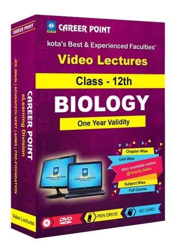 Class 12th Biology Video Lectures | NEET & AIIMS | Validity 1 Yr | Medium : Mixed Language(E & H)