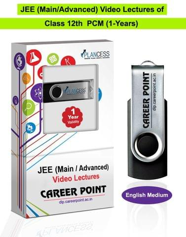 Video Lectures for JEE Main & Advanced | PCM (Class 12th) | Validity 1 Yr | Medium : English Language