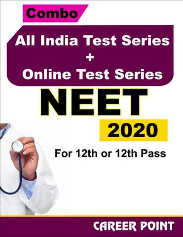 Combo: All India Test Series + Online Test Series For NEET 2020 (For 12th or 12th Pass)