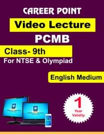 Video Lecture for NTSE | Validity : 1 yr | Covers : Class 9 PCMB | Medium : English Language