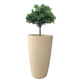 Yuccabe Fox B VNR 18 inches Beige Round Planter