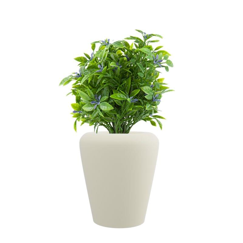 Cream White MAX 15 Inches Round Planter