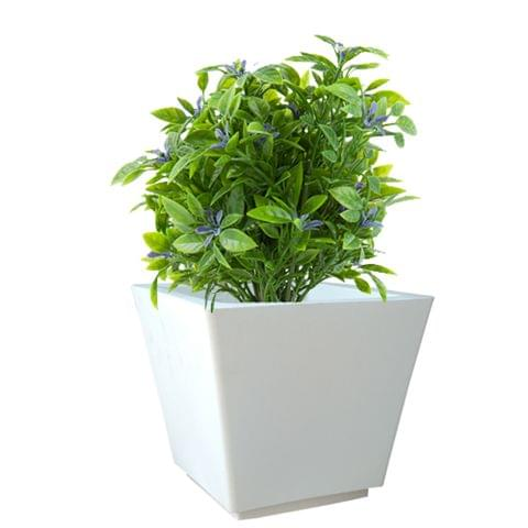 YUCCABE FOXB GK White 16 Inches Planter