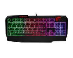 MSI Vigor S11-04US232-AP1 Gaming Keyboard (Black) by MSI
