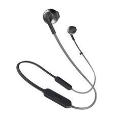 JBL T205BT Pure Bass Wireless Metal Earbud Headphones with Mic