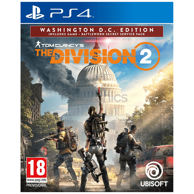 Tom Clancy's The Division 2 Washington DC Edition  (PS4) Pre Order (Releasing On :15 Mar 2019)