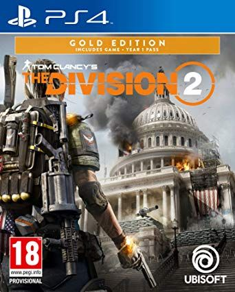 Tom Clancy's The Division 2 Gold Edition ( PS4 ) Pre-Order (Releasing On :15 Mar 2019)