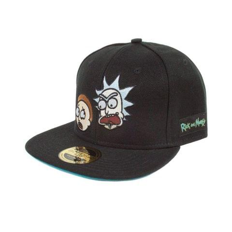 Rick And Morty Adults Unisex Official Faces Snapback Cap