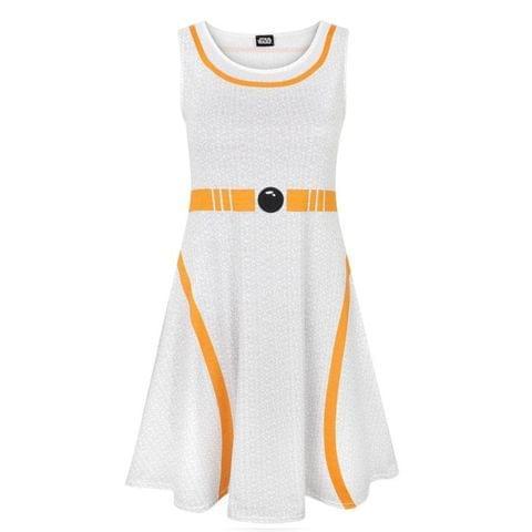 Star Wars Womens/Ladies BB-8 Costume Dress