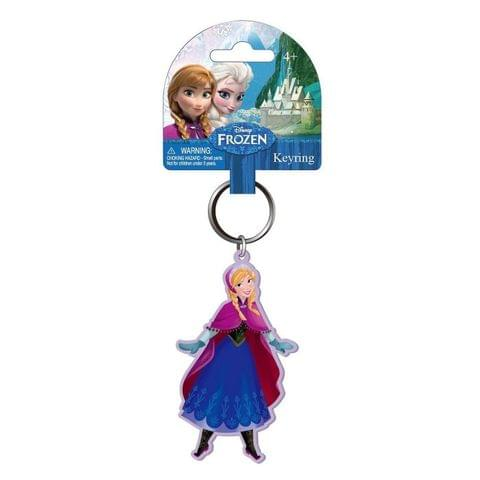 Disney Official Frozen Anna Soft Touch Key Chain