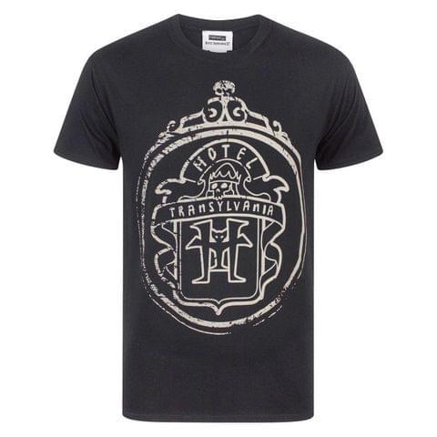 Hotel Transylvania Official Mens Glow In The Dark Logo T-Shirt