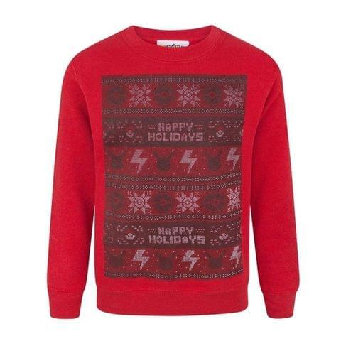 Pokemon Childrens/Kids Happy Holidays Christmas Sweatshirt