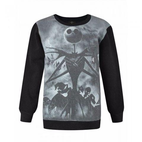 Nightmare Before Christmas Childrens/Boys Official Character Design Sweatshirt