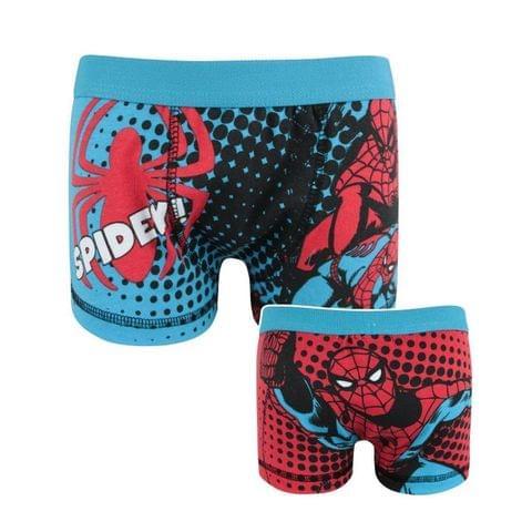 Marvel Official Boys Spider-Man Spidey Boxer Shorts