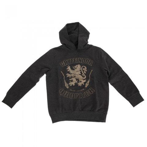 Harry Potter Childrens Boys Gryffindor Quidditch Team Captain Hoodie