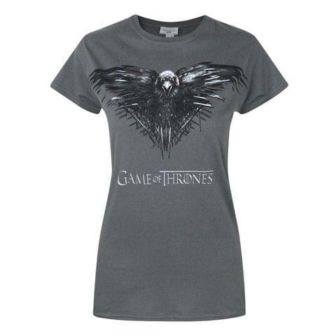 Game Of Thrones Womens/Ladies Three Eyed Raven T-Shirt