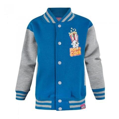 Shopkins Childrens/Girls Official Poppy Corn Varsity Jacket