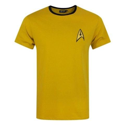 Star Trek Official Mens Command Uniform T-Shirt