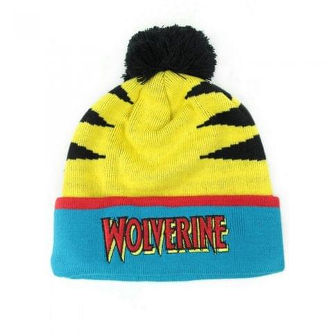 Wolverine Official Unisex Retro Original Bobble Hat