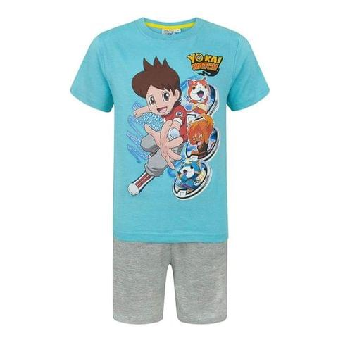 Yo-Kai Watch Childrens Boys Characters Pyjamas