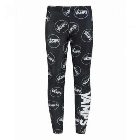 The Vamps Childrens/Girls Official Band Logo Leggings