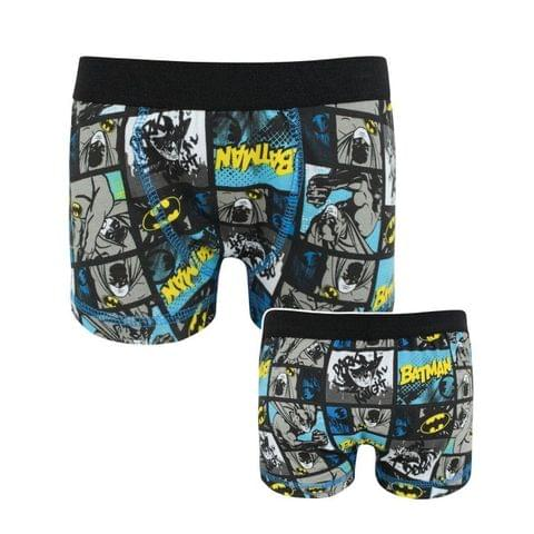 Batman Official Boys Panel Boxer Shorts