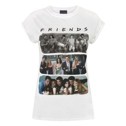 Friends Womens/Ladies Characters T-Shirt