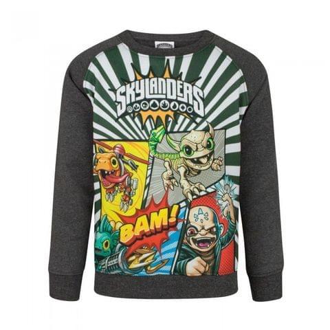 Skylanders Childrens Panels Sweatshirt