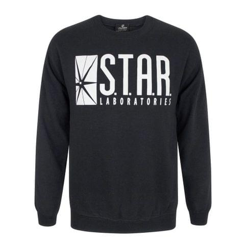 Flash Unisex Adults TV STAR Laboratories Sweater