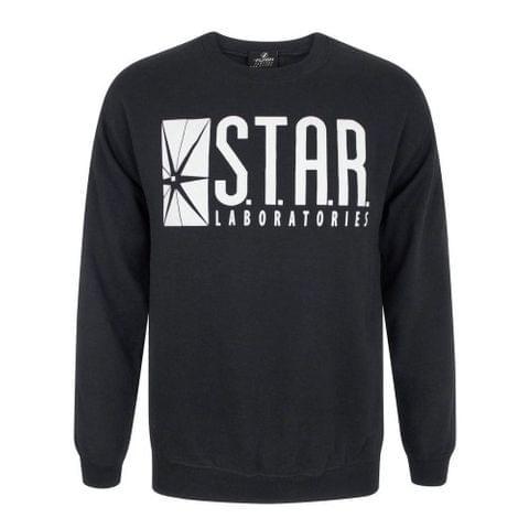 Flash Unisex Adults TV STAR Laboratories Sweater