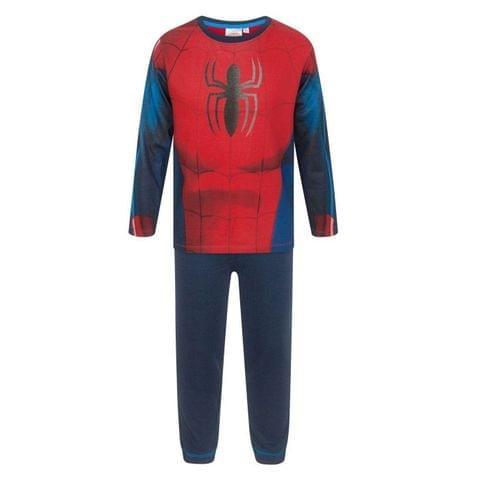 Spiderman Childrens Boys Costume Pyjamas