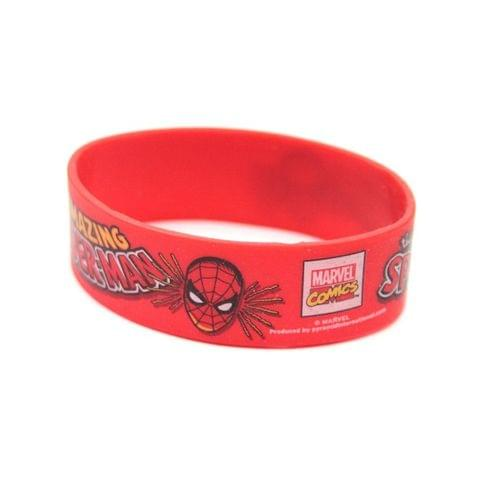 Spider-Man Official Adults Unisex The Amazing Spider-Man Text Wristband