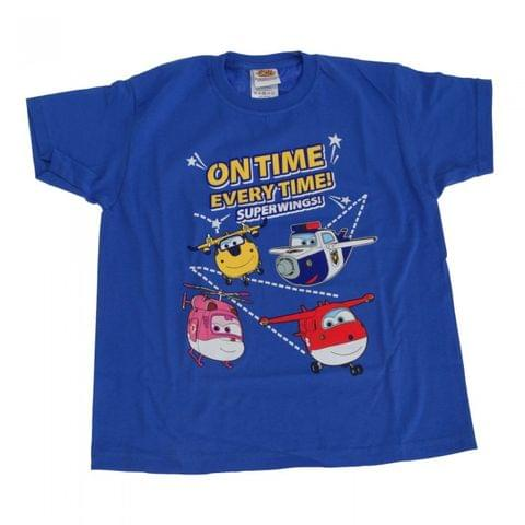 Super Wings Toddler Boys On Time Every Time T-Shirt