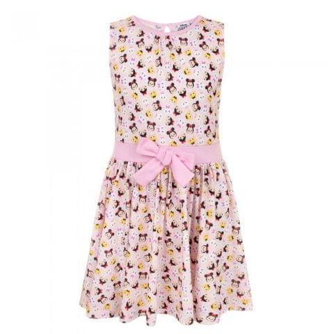 Disney Childrens Girls Tsum Tsum Party Dress