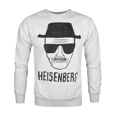 Breaking Bad Official Mens Heisenberg Sketch Sweatshirt