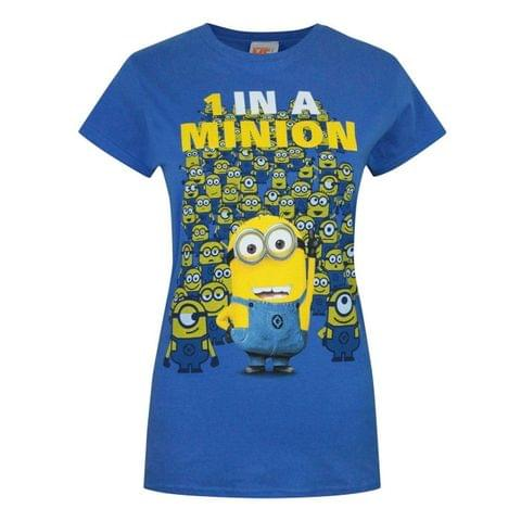Minions Womens/Ladies 1 In A Minion T-Shirt