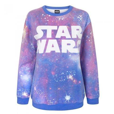 Star Wars Womens/Ladies Cosmic Sublimation Sweatshirt