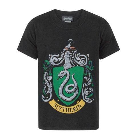 Harry Potter Childrens Boys Slytherin Crest T-Shirt
