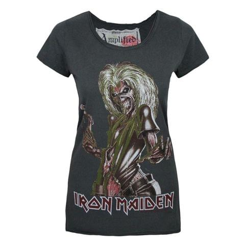 Amplified Womens/Ladies Iron Maiden Killers T-Shirt