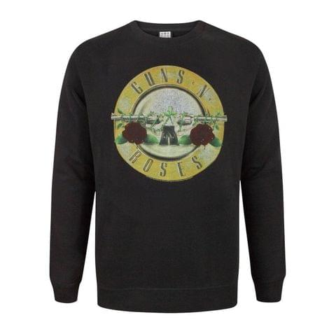 Amplified Guns N Roses Mens Drum Sweatshirt