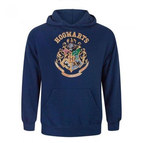 Harry Potter Mens Hogwarts Crest Hoodie