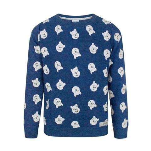 Disney Childrens Boys Winnie The Pooh Expressions Sweatshirt