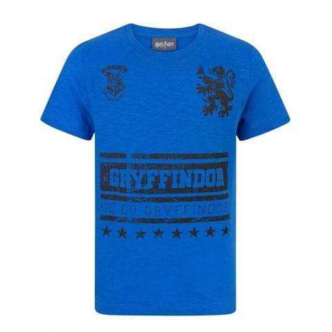 Harry Potter Childrens Boys Go Gryffindor T-Shirt