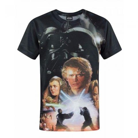 Star Wars Childrens/Boys Official Revenge Of The Sith Sublimation T-Shirt