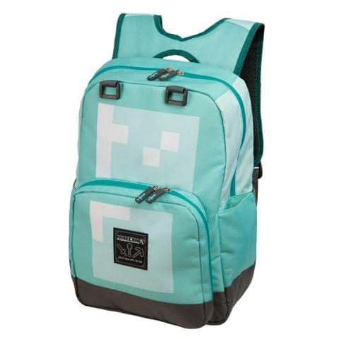 Minecraft Official Childrens / Kids Diamond Armour Large School Backpack