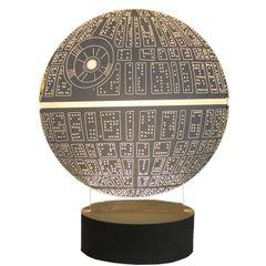 3D Acrylic Table Lamp Matrix Design