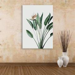 Beautiful Plant Framed Canvas Print