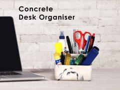 Concrete Desk Organiser
