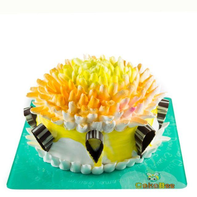Yellow Blossoms Cake